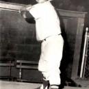 John at bat