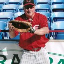 1995 international baseball tournament in Florida playing 1st base for Cincy Hawks